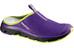 Salomon RX Slide 3.0 Sandals Women cosmic purple/black/gecko green